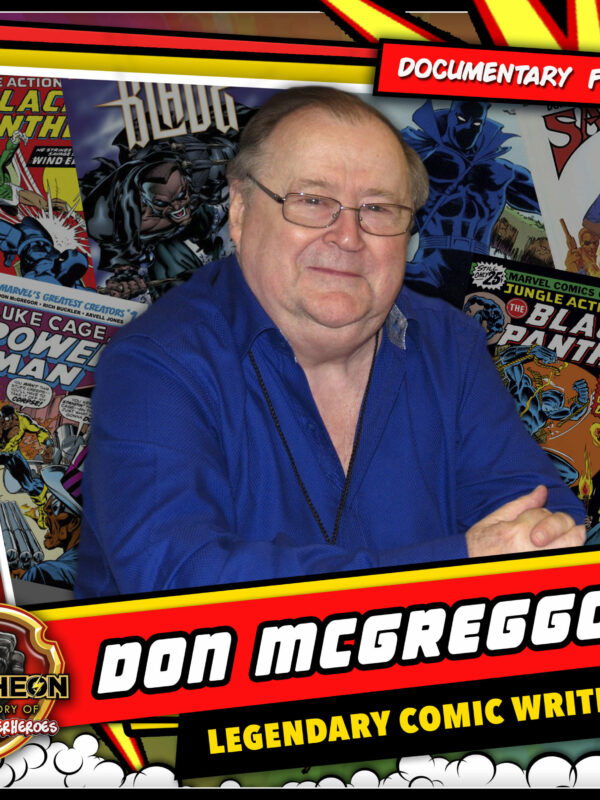 Pantheon Interview Don McGreggor comic writer