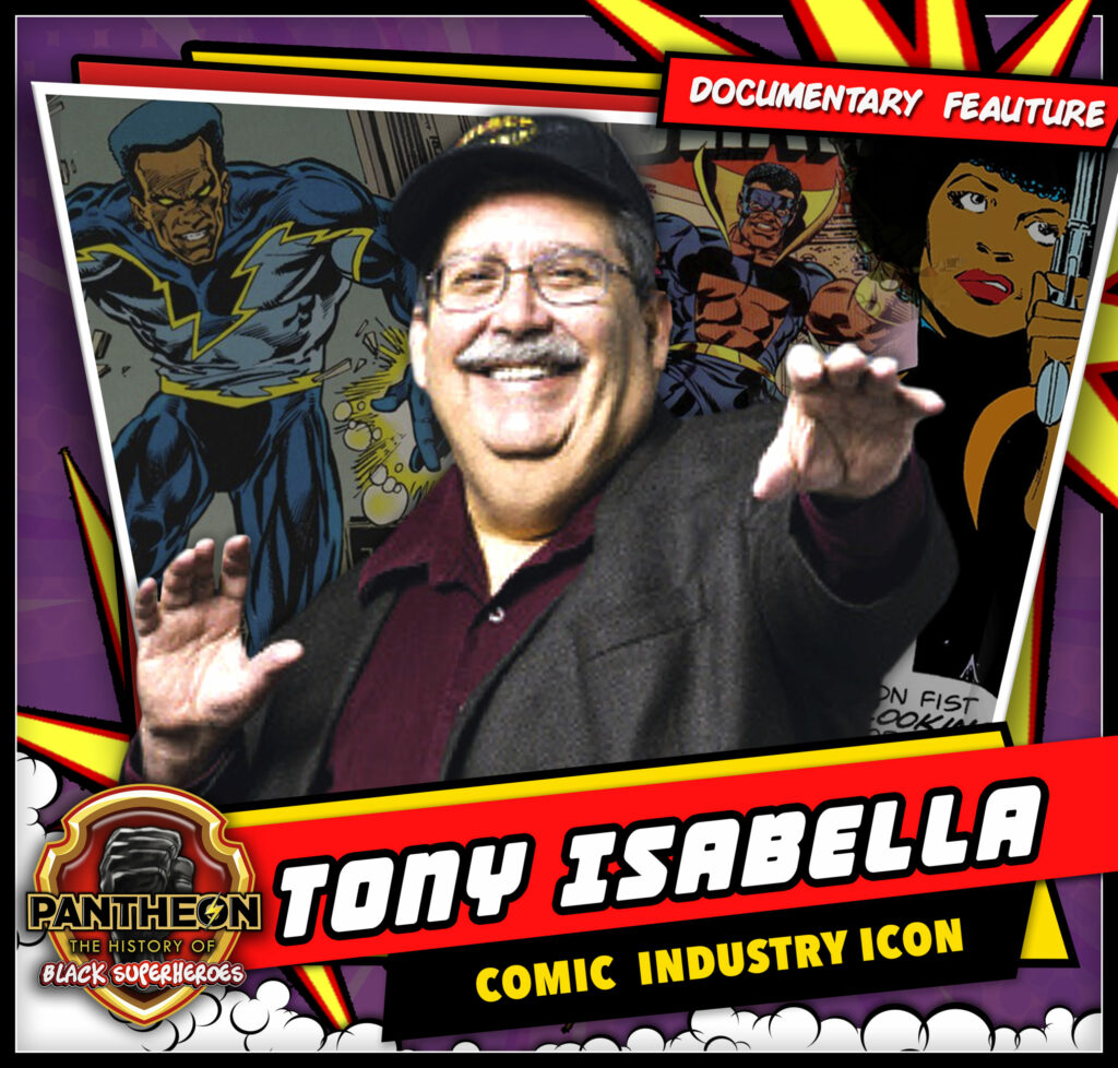 Pantheon Interview Tony Isabella SM 1