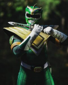 Absolutely Morphing Out With This Green Might Morphing Power Ranger