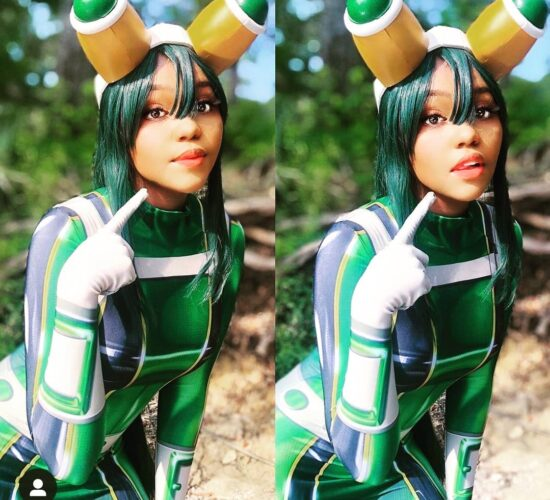 Adorable Traditional Froppy Cosplay My friend call me Tsu...