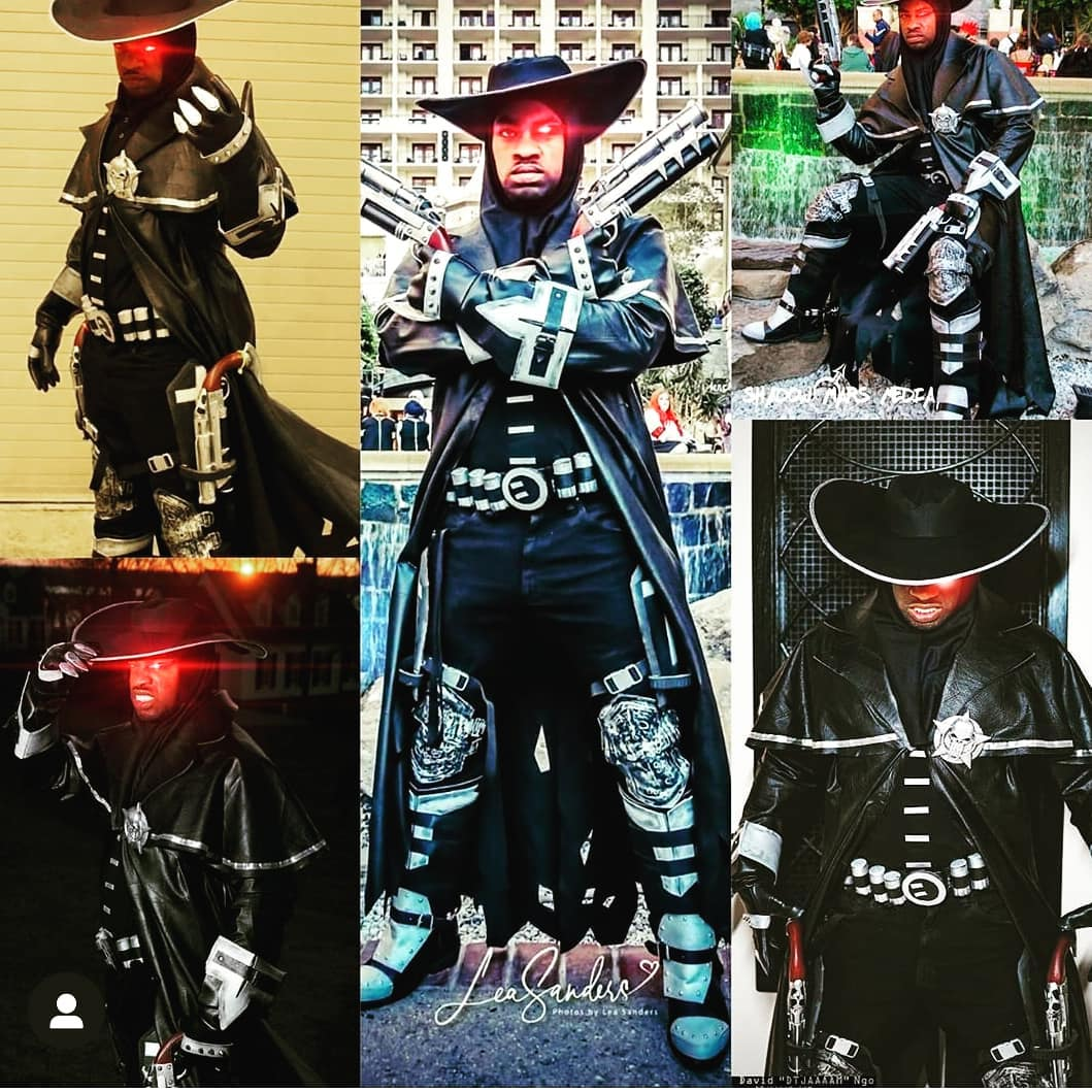 Awesome Jericho Cross cosplay compilation by @defmas2002 ToonTreats Wednesda