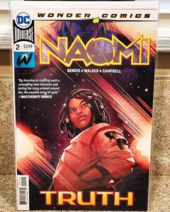 Big Congrats to @rychu79 for the completing the furst run of Naomi for DC HistoryOfBlackSuperheroes.com DCComics TuesdayVibe.jpg
