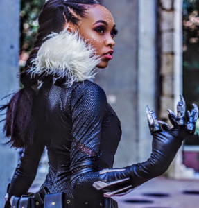 Black Panther Cosplay @CutiePieSensei on Pantheon Films
