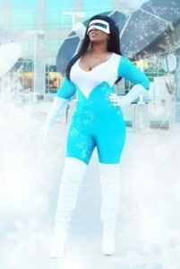 Frozone Cosplay shared on Pantheon Films