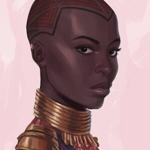 GORGEOUS Wakanda Inspired Artistic Piece by @chandeloor mondaymuse MondayMotivation mondaymood Pantheon.jpg