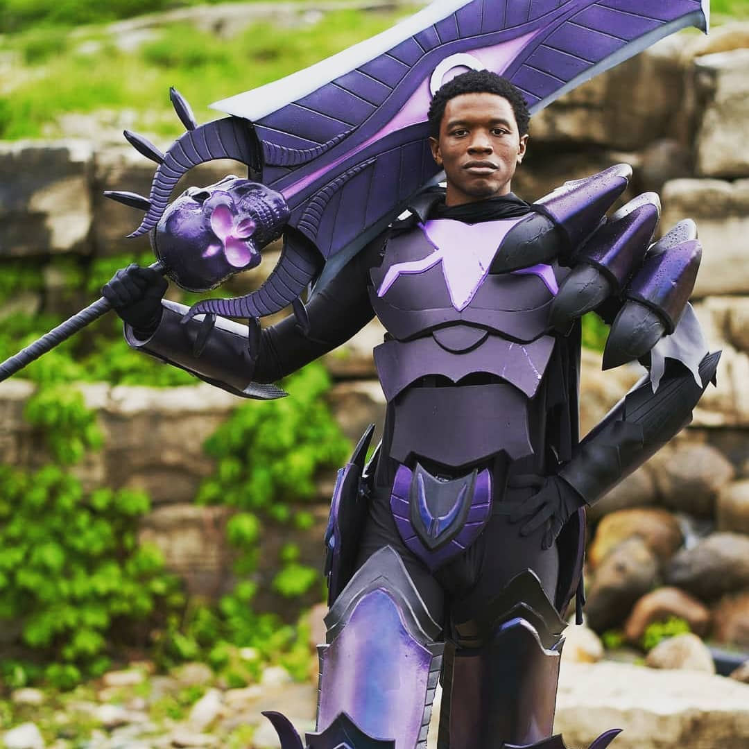 Gore Magala Monster Hunter Cosplay... He Did That @spectra v3