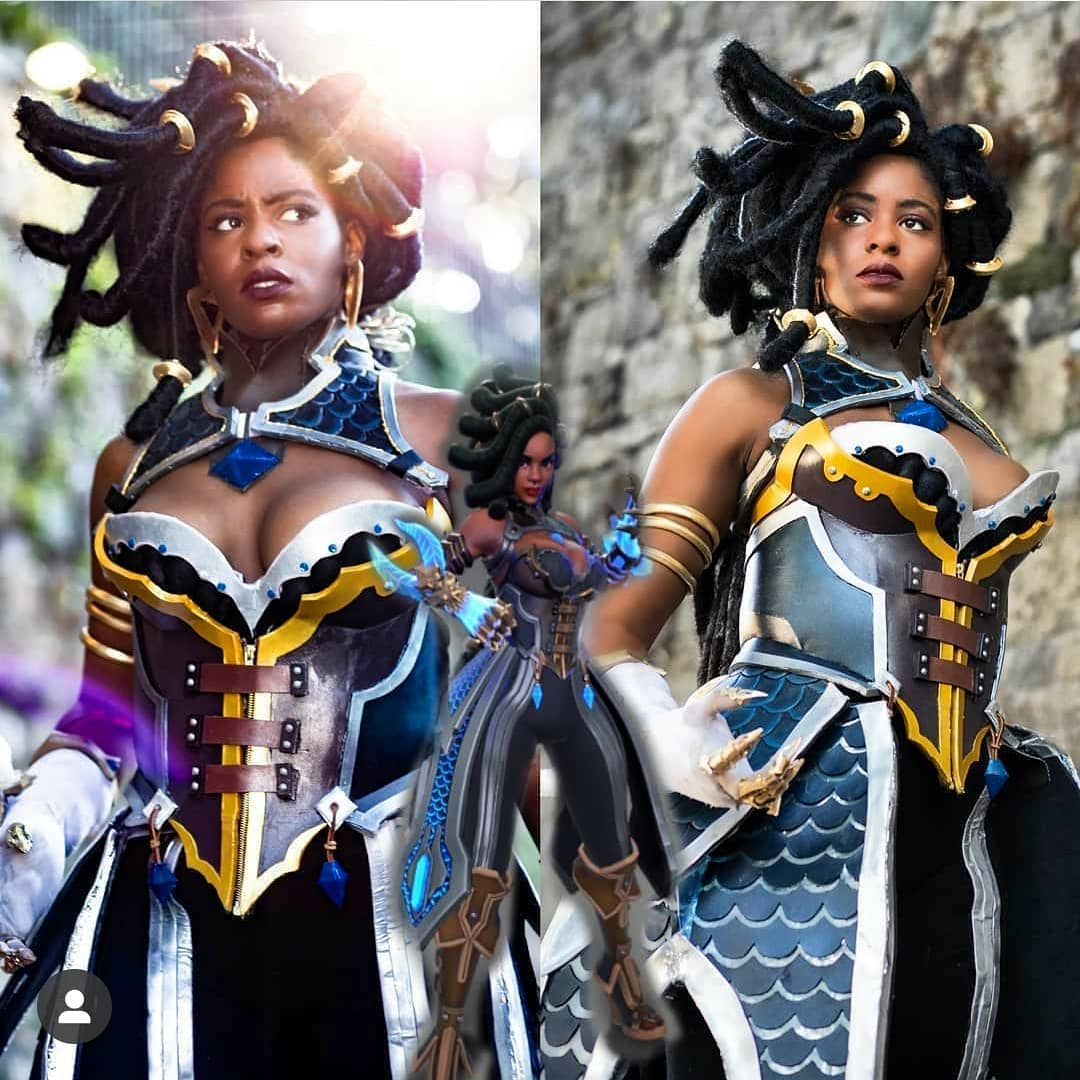 Impeccably Executed Imani Cosplay by @brown.sugar .outlaw