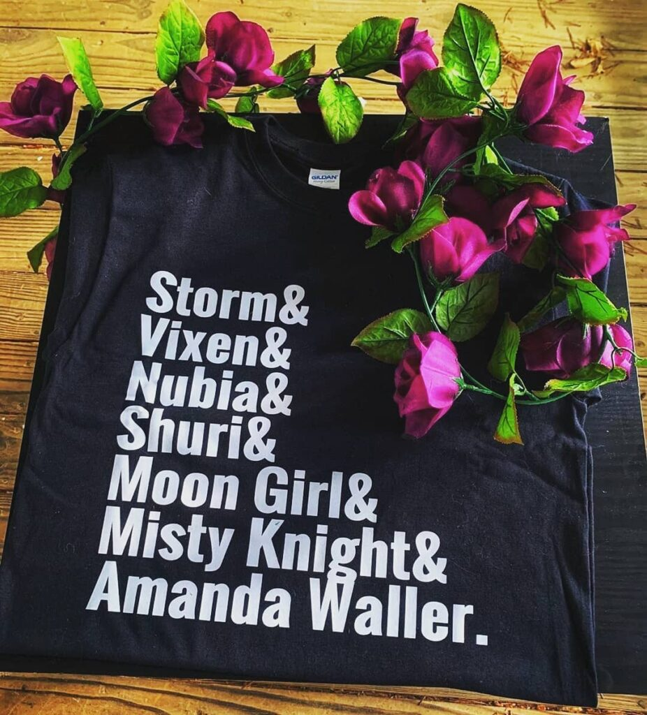 Shout out to @glowdollsbrand for this awesome shirt BlackGirlsRock