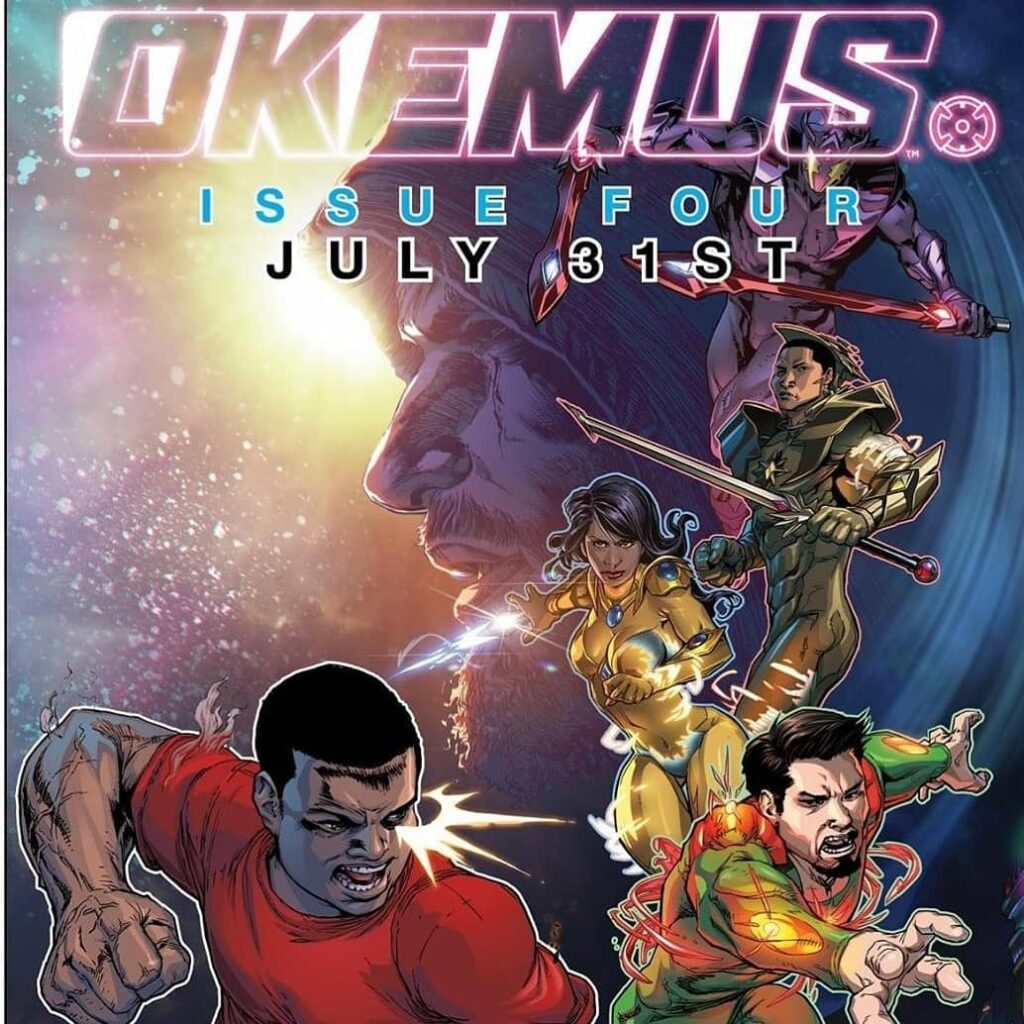 Shout out to the @tjsterlingart for the awesome Okemus Issue 4 Cover Art HistoryofBlackSuperHeroes.com TuesdayVibes TuesdayT.jpg