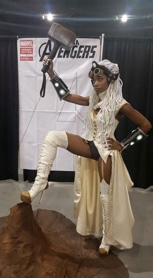 Storm Steampunk Cosplay 2
