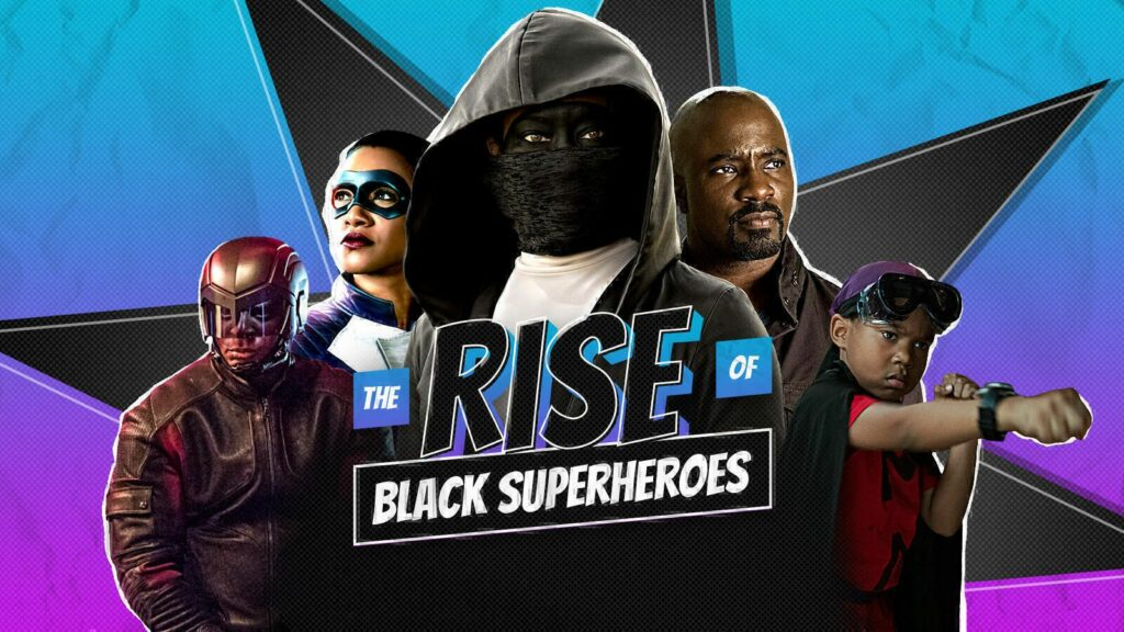 TV Guide honors the black superheroes and a few villains who broke ground alo Pantheon Films