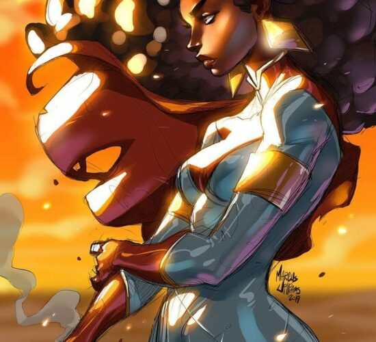 The Super Natural Woman for your Friday. War is coming. MarcusTheVisual TheSu Pantheon Films