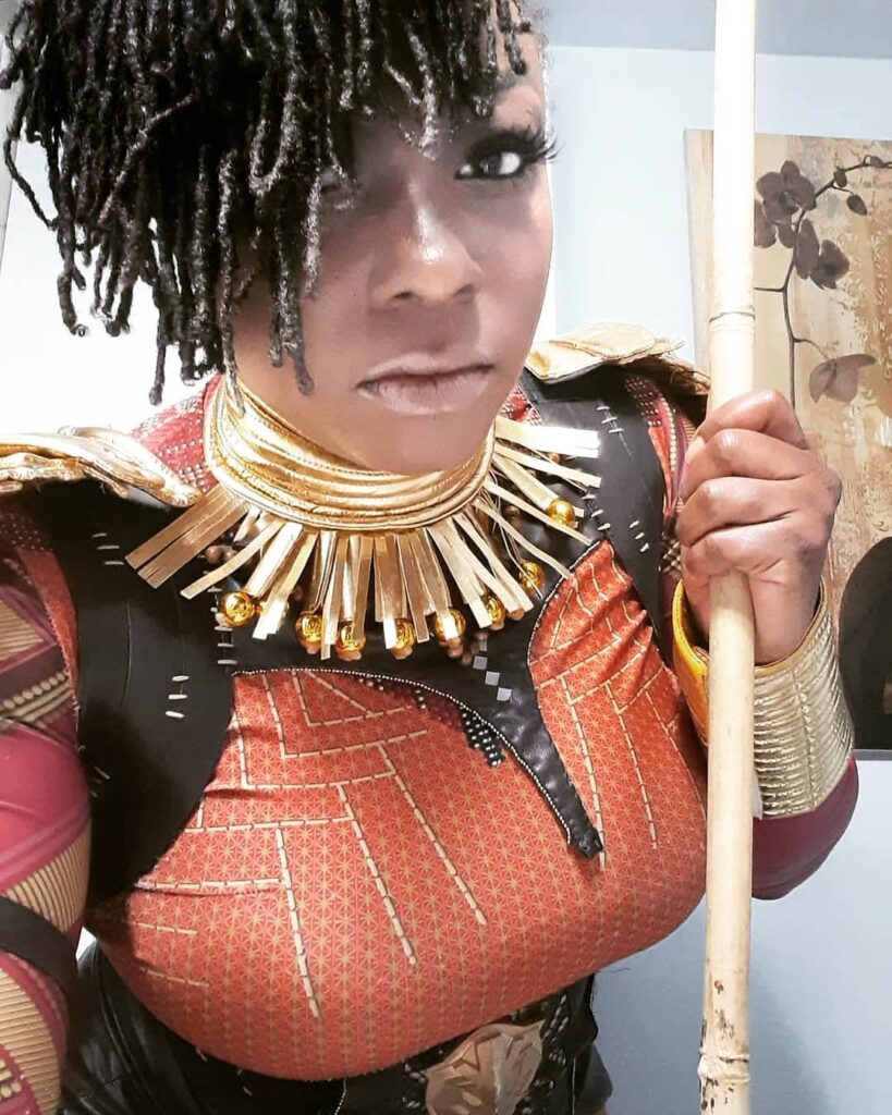 WakandaForever Cosplay On Deck That Collar Is Everything...