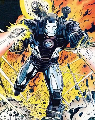 War Machine Marvel Comics on Pantheon Films