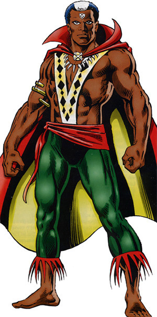 Brother Voodoo Marvel Comics Haiti