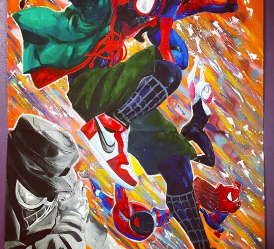 Busting Loose With Spiderman The Crew Credit @mythallica 1