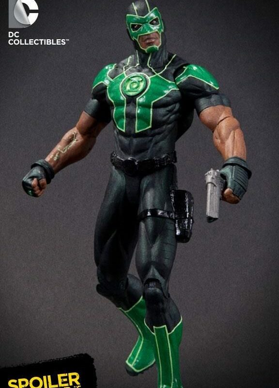 DC Collectibles Unveils Green Lantern Baz Action Figure Pantheon Films