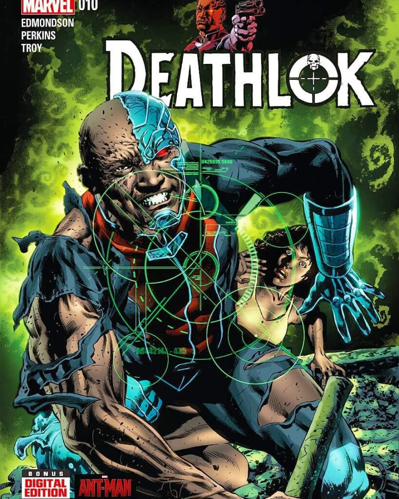 Deathlok The Demolisher first appeared in Astonishing Tales 25 Aug. 1974 created by Rich Buckler and Doug Moench.