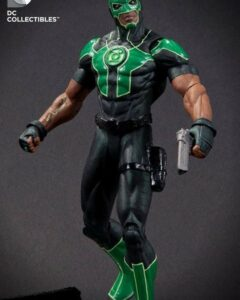Figurine of Baz The New Green Lantern for DC Comics New 52. Costumed as he appears in Green Lantern 0. Figure stands 6 inc