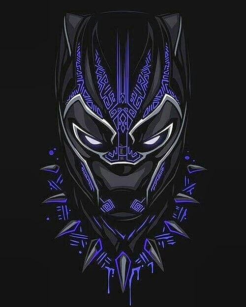 Graffiti Vibes Black Panther Trubute By @motherlandstuff