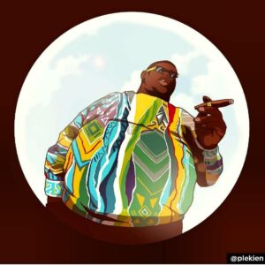 Hip Hip Hero BIGGIE SMALLS It Was All A Dream Credit @plekien