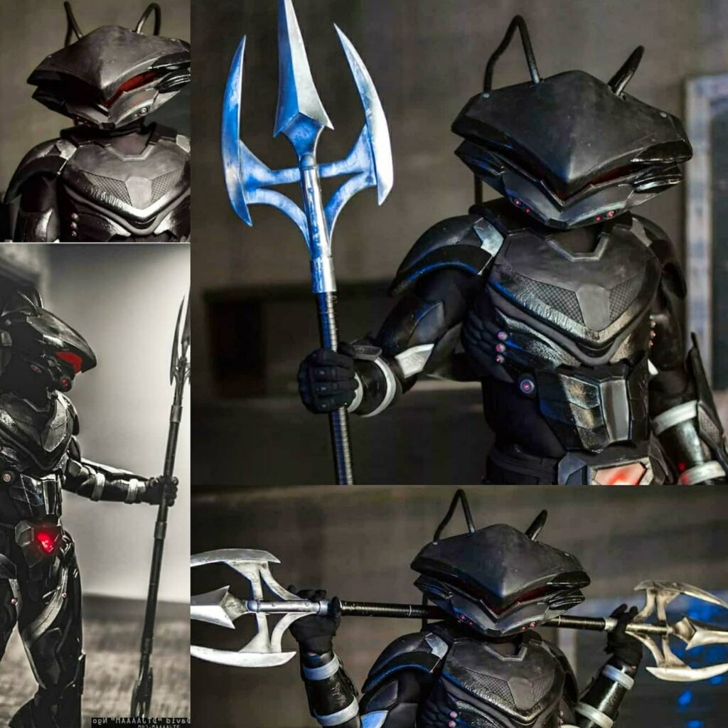 MAGNIFICENT BLACK MANTA COSPLAY Only Shawkshank Props Could Make Evil This Amazing