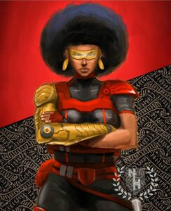 MISTY KNIGHT Fan Art Is Daring You To Say Otherwise...