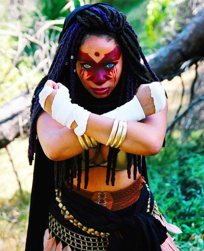 NIOBE Cosplay Is To Be a reckoned With... Credit @shanamostella