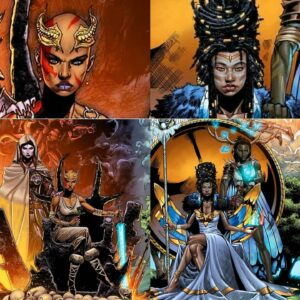 NIOBE She Is Death 4 Is Coming With That DopeBlackArt So Hard