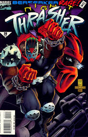 Night Thrasher Berserker Rage Comic Cover Marvel Comics