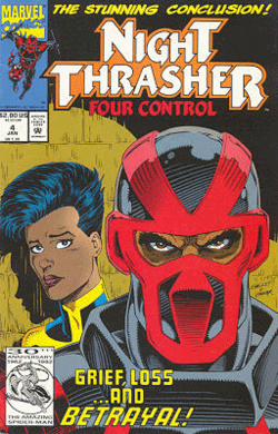 Night Thrasher The Stunning Conclusion Comic Cover Marvel Comiocs 1