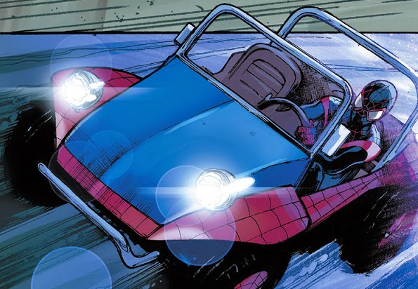 Peter Parkedcar Earth 53931 from Amazing Spider Man Vol 3 12 001 1
