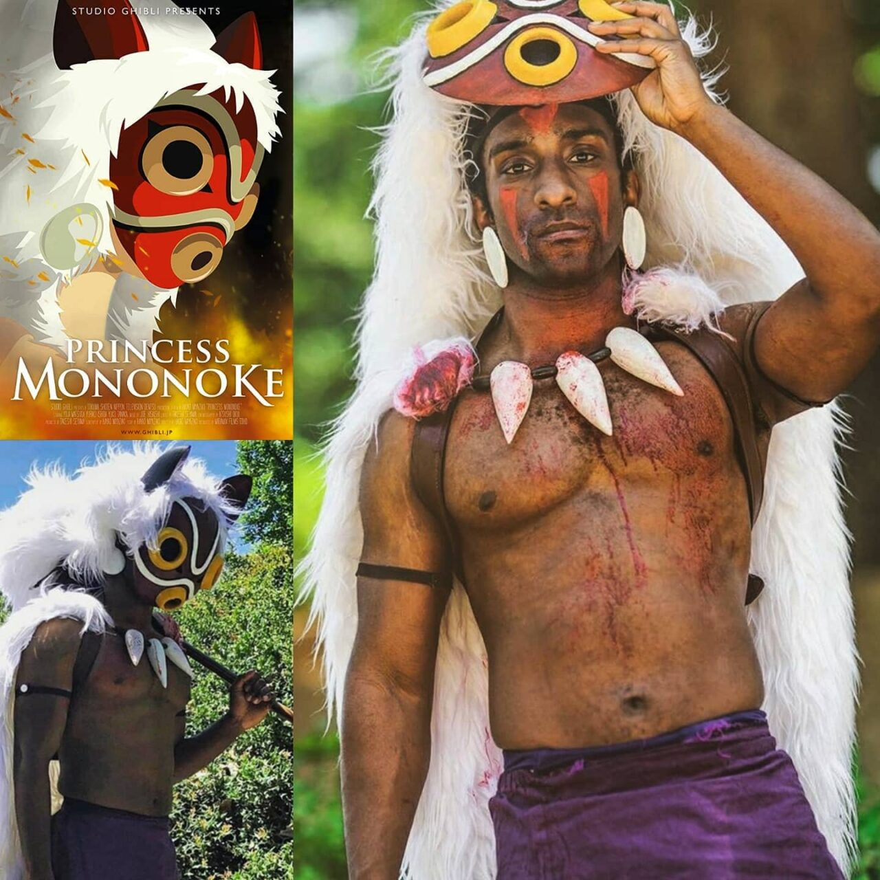 Princess Mononoke Cosplay Serving Serious Honor To A Film Still Loved By The Masses...