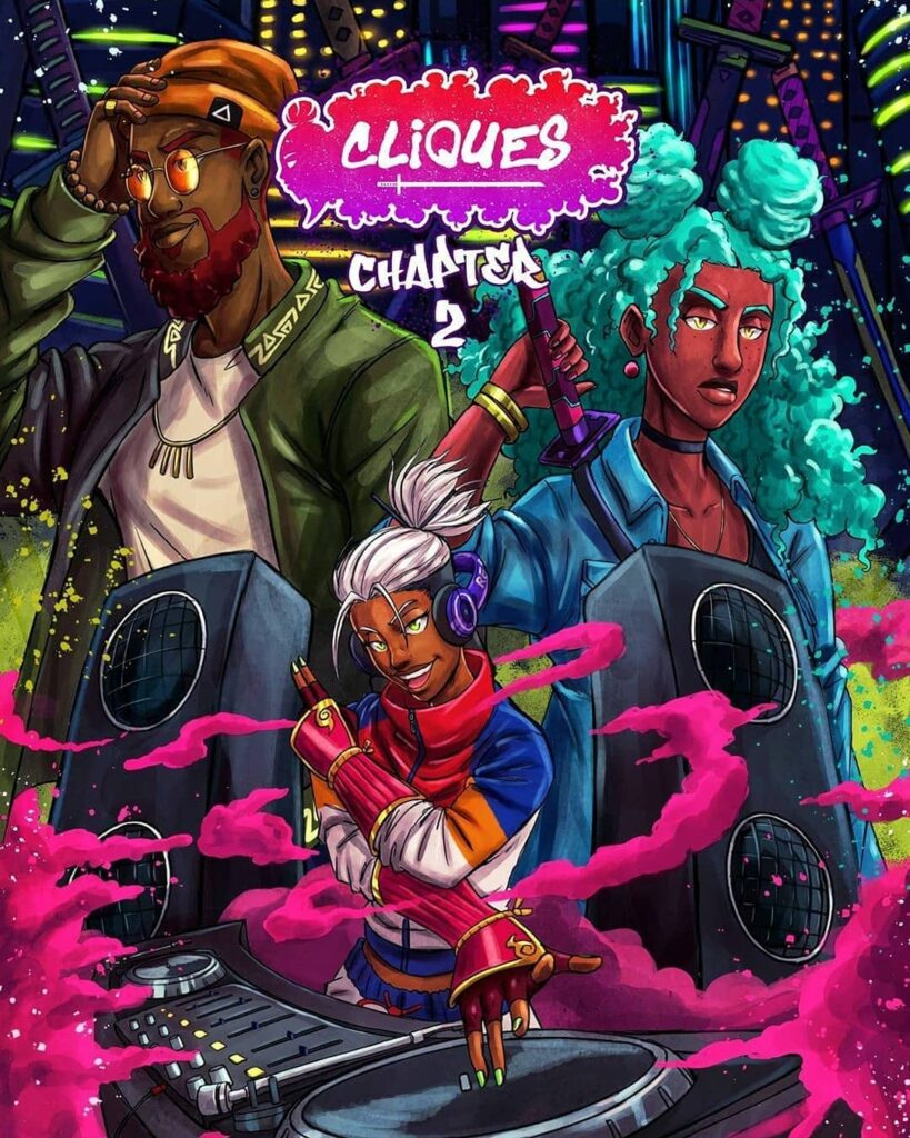 The Color Bomb Hip Hop Delight Is Strong In This Clever Comic Cover For Cliques