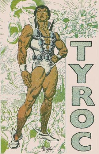 Tyroc Black Superhero Comic COver
