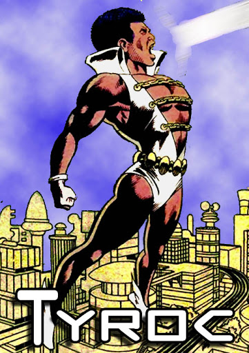 Tyroc Black Superhero