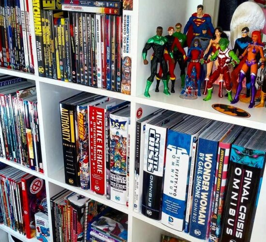 When Comic Collection Grow To Crushing Proportions Credit @yul.the .black .geek