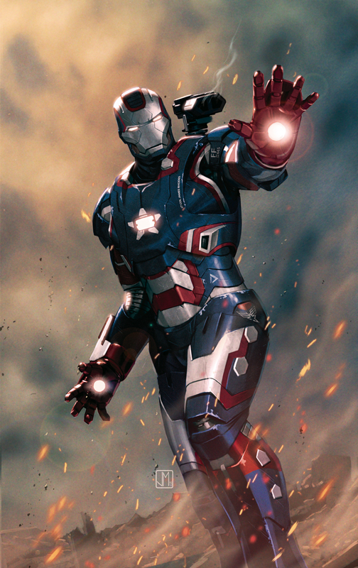 war machine iron patriot