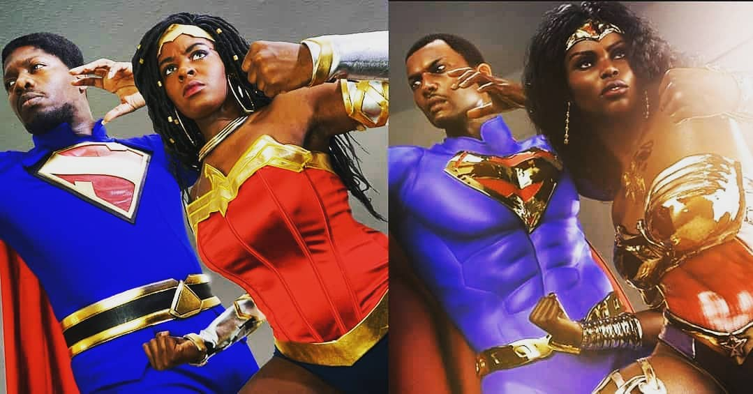 Beast Mode Joint Effort Eradicating The Error Of Thyne Ways⚡Nubia Superman Nubia @brown.suga .outlaw Art Credit @rendergoddes