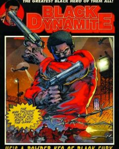 Black Dynamite 2 Cover Art Just Pimped The Last 2¢ Out That Bad Guy...