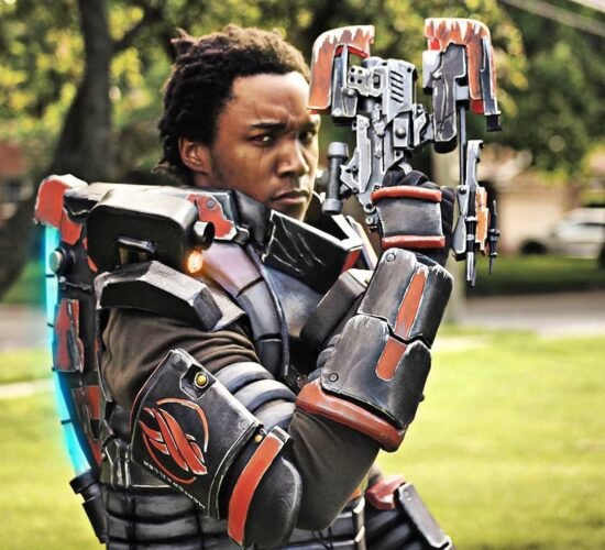 Dead Space Cosplay Bringing Out The Big Guns Good Men Mean Well We Just Dont Always End Up Doing Well...