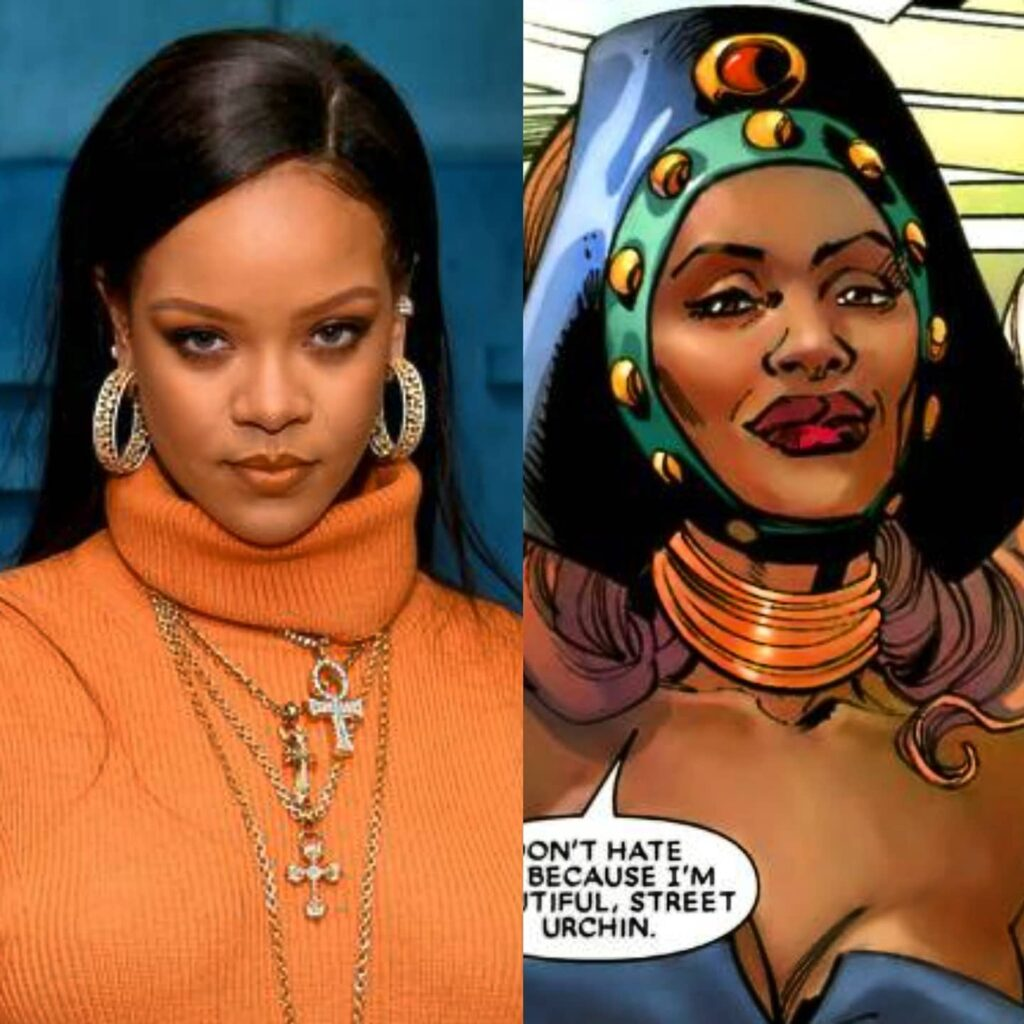 Marvel WAS Rumored To Have Considered Rihanna For A Spot In Black Panther 2... PrincessZanda