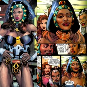 Princess Zanda AKA Princess Power first appears in Black Panther 1 in January of 1977.