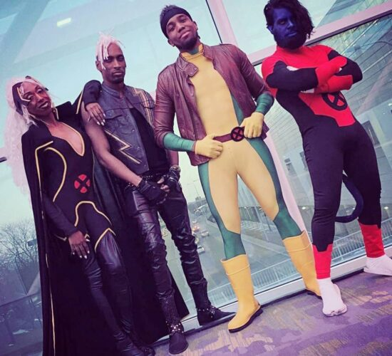 X Men Mutant Crew Cosplay Hitting That OLD SCHOOL Swag