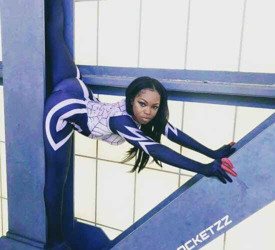 @candy rocketzz Hit That SPIDERMAN Like He Stole Something...