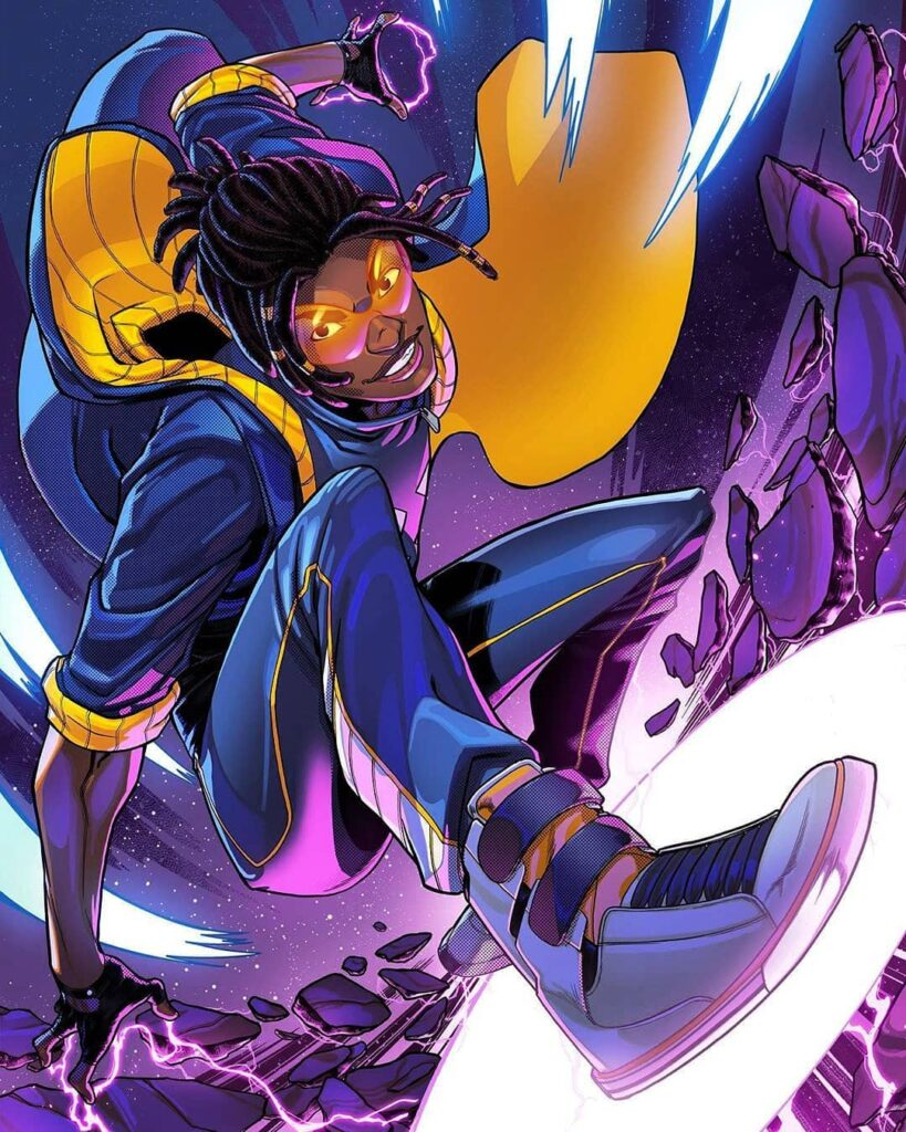 Super Static Shock FanArt Saturday Morning Cartoons Havent Been The Same Since...