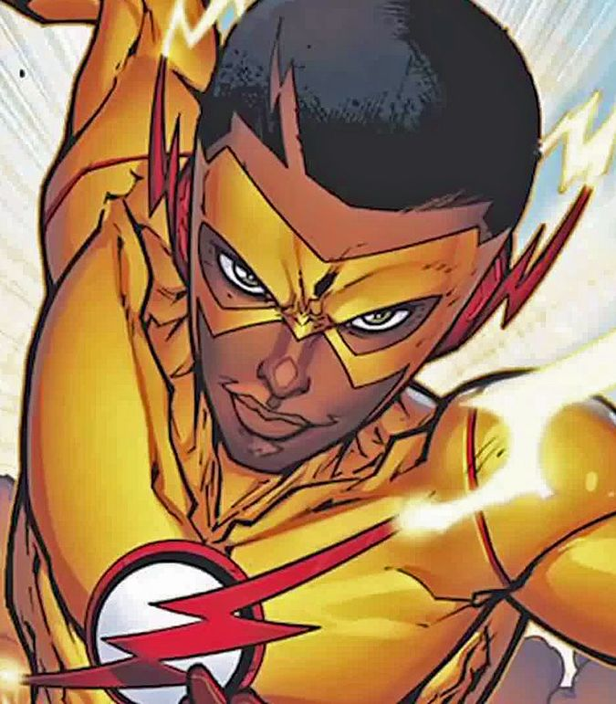 1093 Kid Flash Wally West New 52 Rebrith